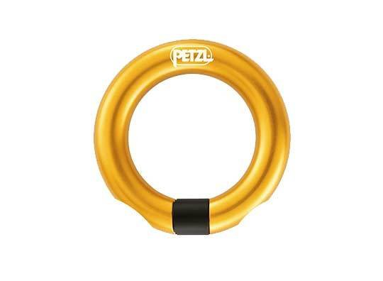 Petzl America Ring,  Open multi-directional gated ring