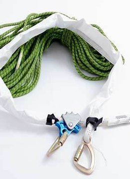 Skylotec Tyvex protection for lanyards with velcro
