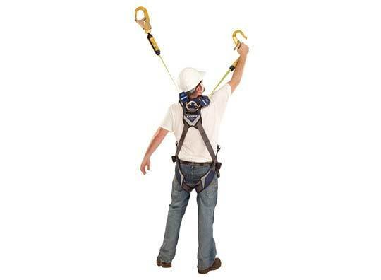 Capital Safety Nano-Lok Twin-Leg Quick Connect Self Retracting Lifeline - Web