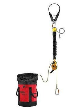 Petzl JAG RESCUE KIT contained hauling and evacuation kit, 60m