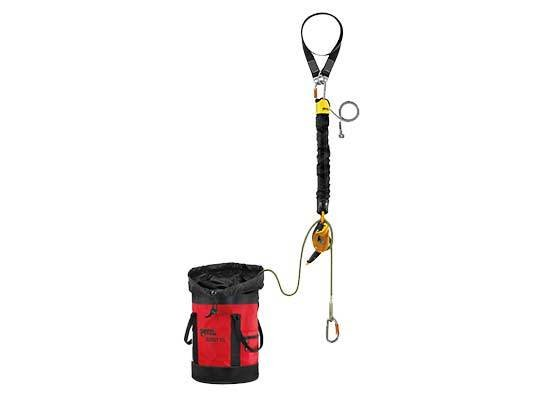 Petzl America JAG RESCUE KIT contained hauling and evacuation kit, 60m