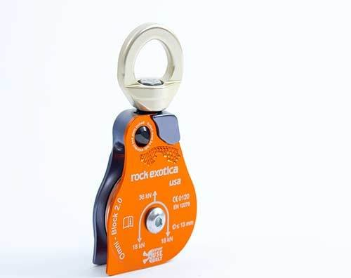 Rock Exotica Omni-Block Swivel Pulley