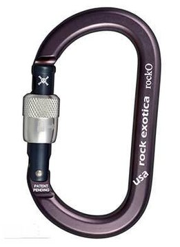 Rock Exotica rockO Carabiner - Screw Lock