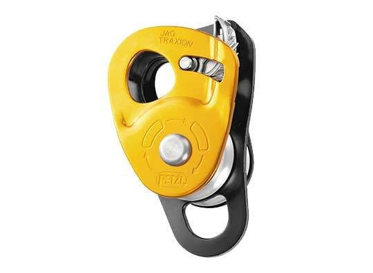 Petzl JAG TRAXION lightweight, double progress capture pulley, NFPA