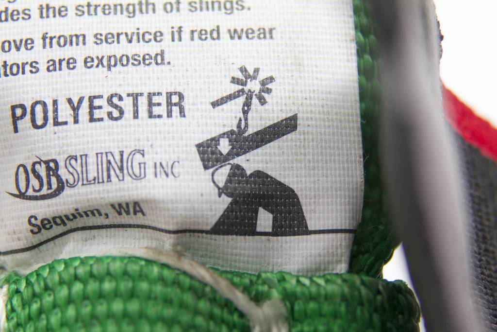 OSP Sling Polyester Round Sling Green,