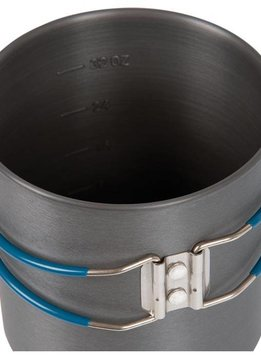 OLICAMP LT Pot, Hard Anodized, 1L