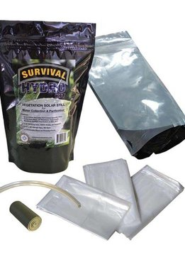 Survival Water Collection Kit