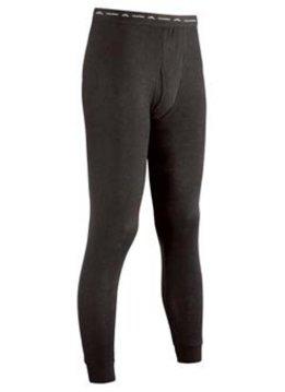 COLDPRUF Polypropylene Base Layer Pants, Mens, Black