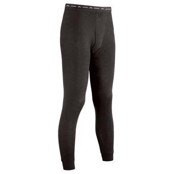 COLDPRUF Polypropylene Base Layer Pants, Mens, Black