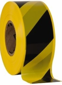 "Striped Tape 3"" x 1,000ft."