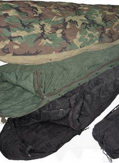 Military Surplus ECWS Sleeping Bag - 4 part system w/Bivy