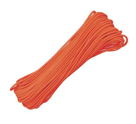Sterling Rope 550 Type III Parachute Cord Orange