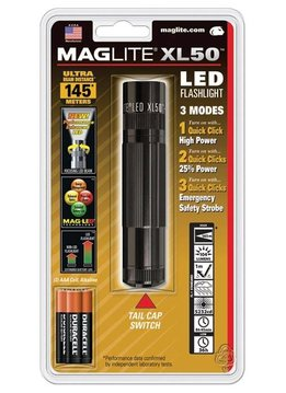 MAG XL 50 LED FLASHLIGHTBLACK