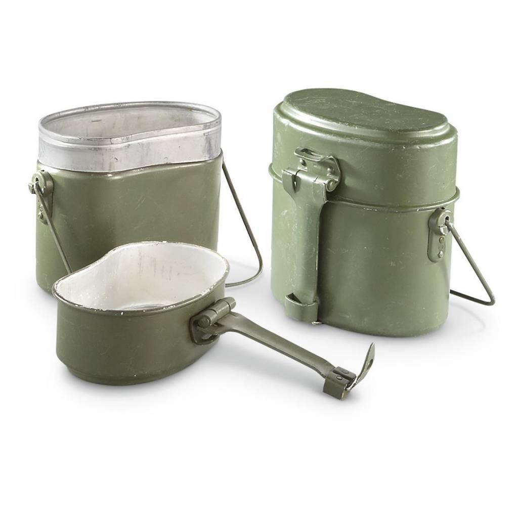 Military Surplus Mess Kits