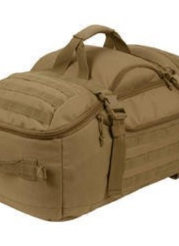 Rothco Coyote Brown 3 In 1 Convertible Mission Bag