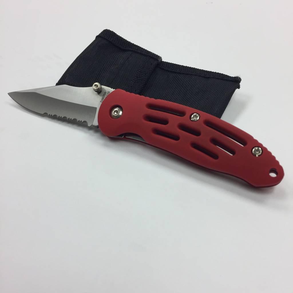 Dakota Outdoor Cutlery Stainless Steel 4.5 in. Pocket Knife