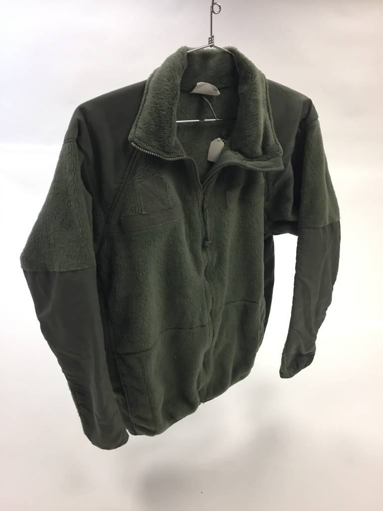 Military Surplus ECWCS Level III fleece, Foliage Green