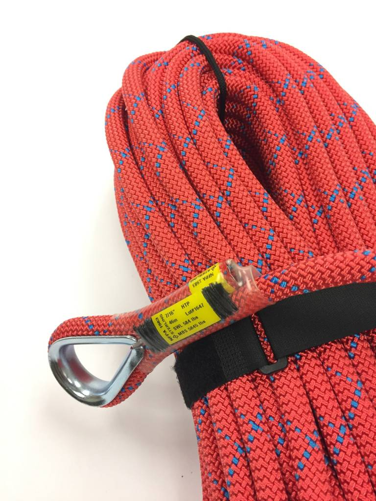 "Sterling Rope 7/16"" Red HTP with SEM"