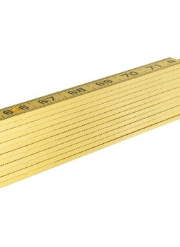 Klein Tools Folding Fiberglass Ruler, Inside Read