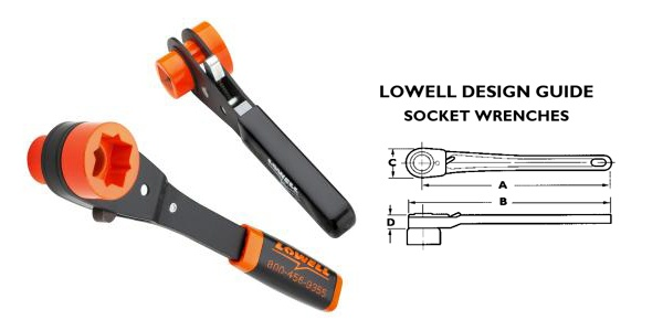 Lowell Tools Lowell Lineman's Racheting Wrench