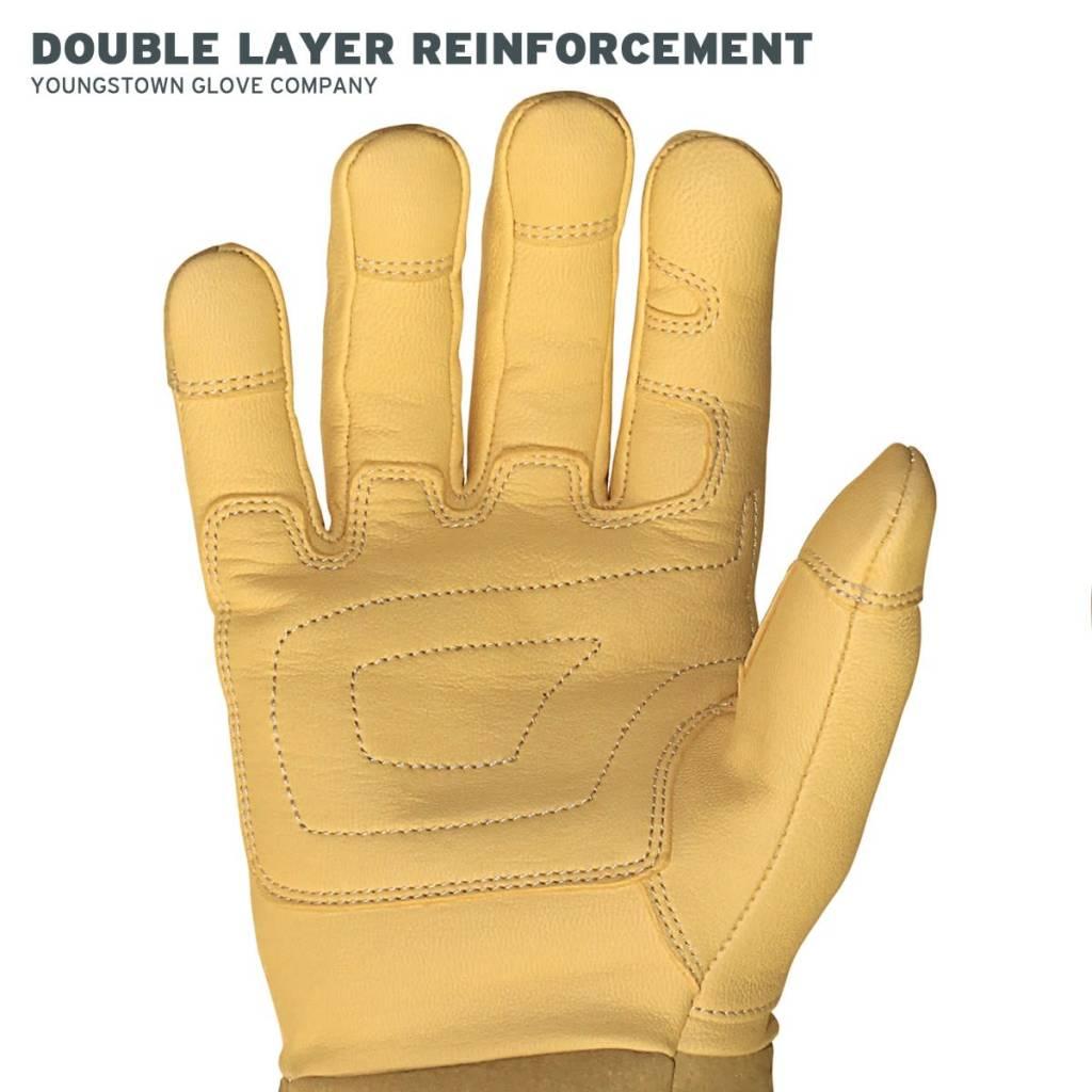 Leather Utility Plus Wide-Cuff