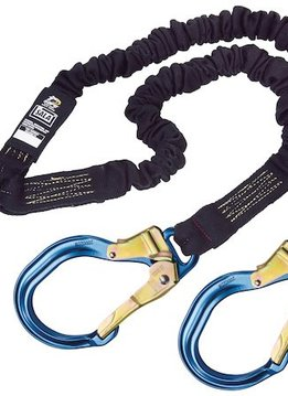 100% Tie-Off, tubular Nomex/Kevlar web, steel hooks at leg ends, 6 ft. (1.8m)
