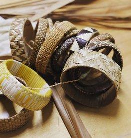 JUNE 18 10am-1pm WORKSHOP Lauhala Weaving: Intro