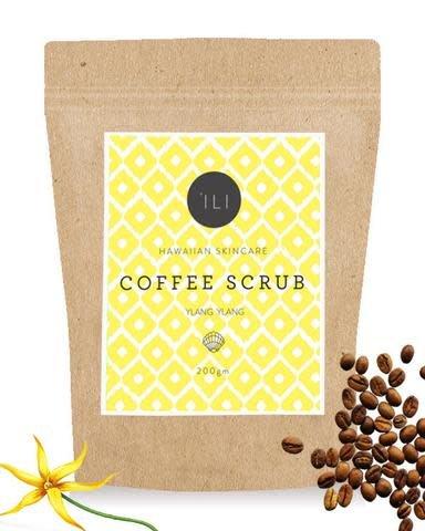 Ili Coffee Scrub Ylang Ylang