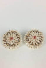 Cluster Niihau Shell Earrings Large