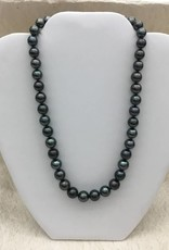 8.3-10.7mm Round Tahiti an Pearl Necklace SS #74