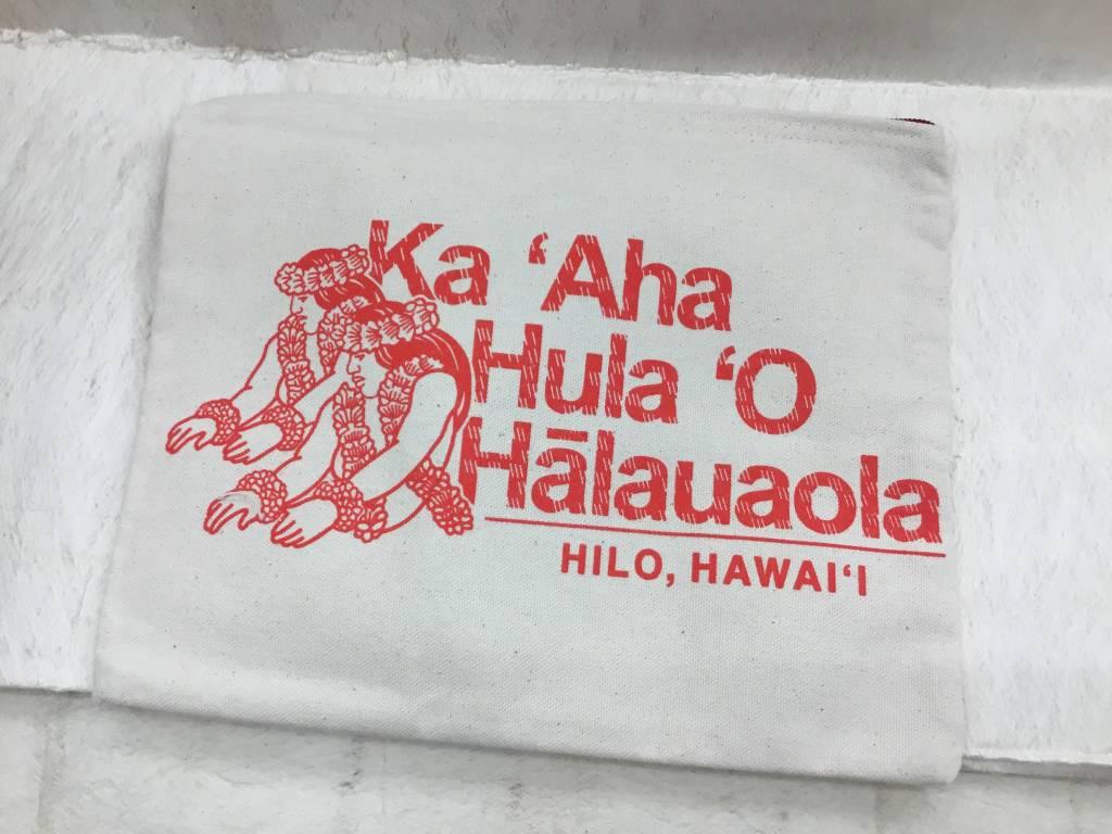 HALAUAOLA ZIPPER POUCH