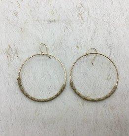 14KGF LĀ Lauhala Earrings