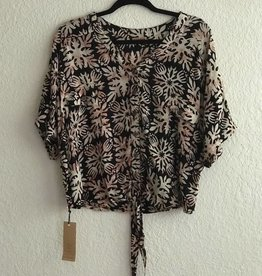 TAAHINE TOP QUILT BLACK