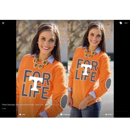 Gameday Couture UT Tee/SMALL