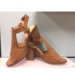 GC Shoe Corp. Taupe Polka Sandal