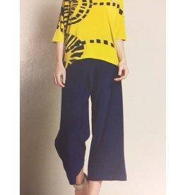 Clara Sun Woo Navy Soft Knit Capri