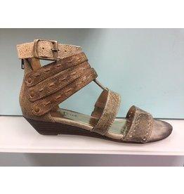 Diba True Shoes Silver & White  Sandel