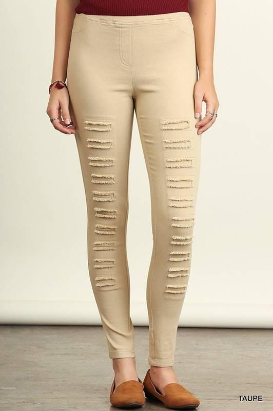 Umgee Distressed Leggings