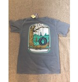 Lilly Grace Just a swingin' Tee Blue