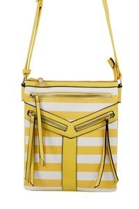 Yellow Stripe Bag