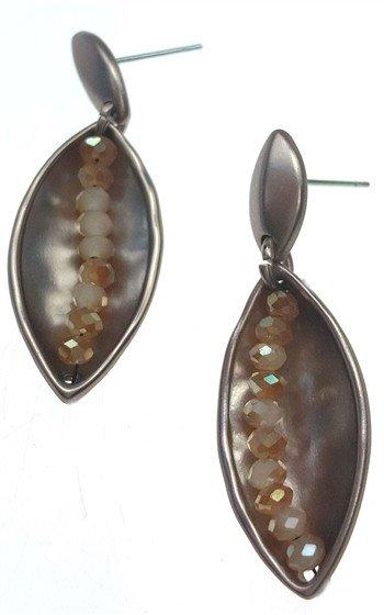 Sweet Lola Earrings, w/Topaz