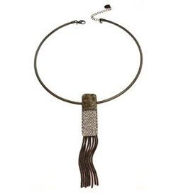 Necklace, Chokerw/tassel