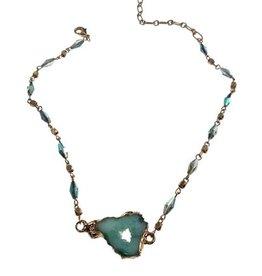 Necklace, Drusty Choker
