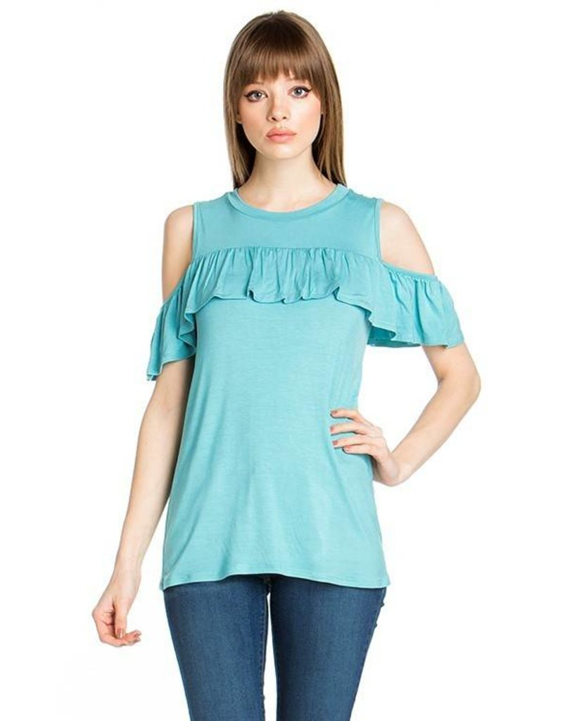 Sweet Pea Ruffle Top
