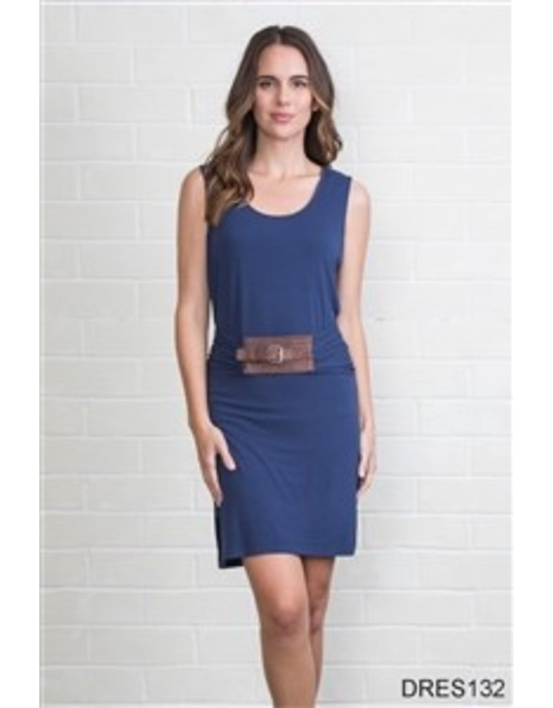 Simply Noelle Belted Dress