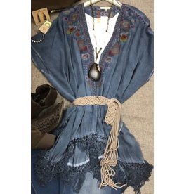 Andree Denim Blue Cardigan