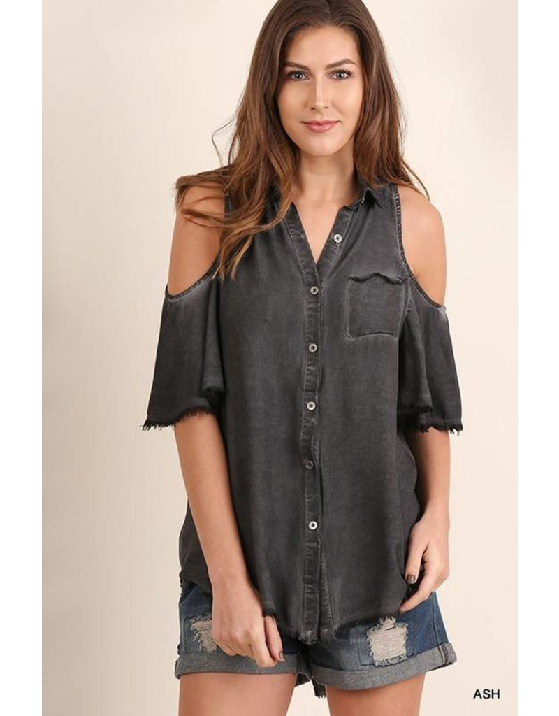 Umgee Ash Button Front Top