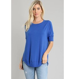 La Vida Royal Blue Tunic