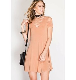 La Vida Dusty Rose Dress