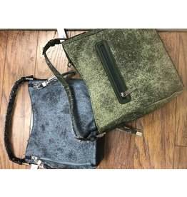 Sondra Roberts Hobo Handbags Textured Napa